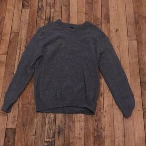 Other - Gray V neck Sweater